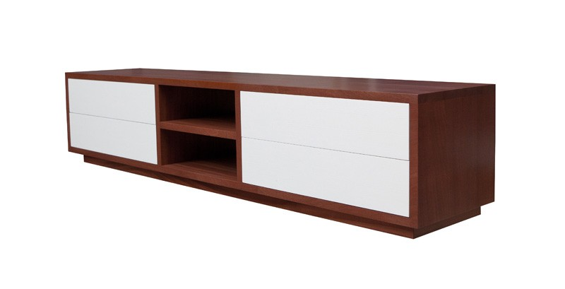 Mahonie Tv Meubel : Tv meubel barletta
