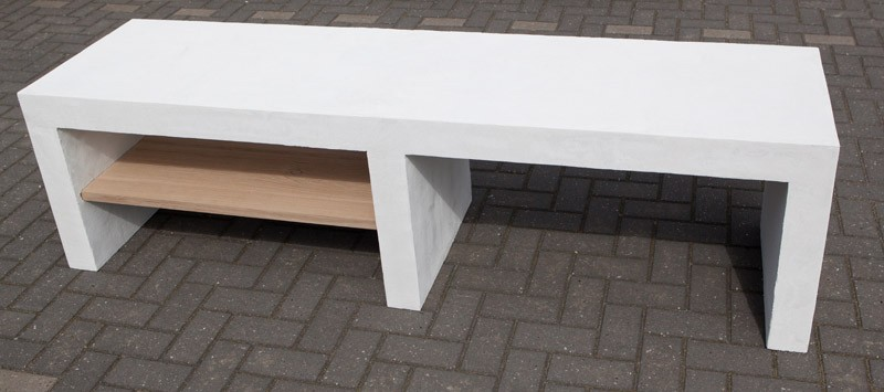 audiomeubel 9432 beton cir. Black Bedroom Furniture Sets. Home Design Ideas