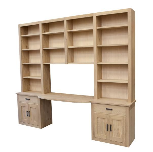 boekenkast bureau 7862