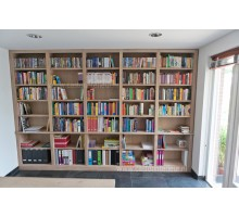 Eiken Boekenkast Catania