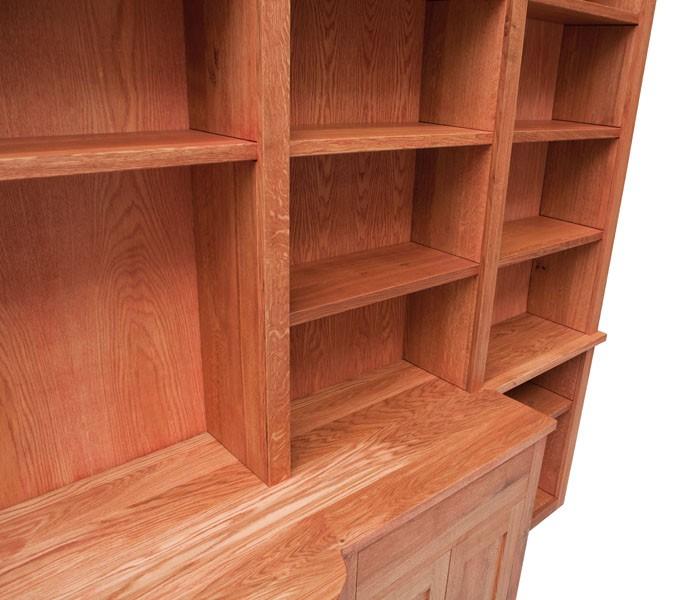 Boekenkast-bureau 7862