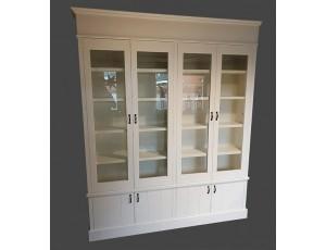 Boekenkast met deuren 7522