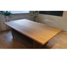 Eiken tafelblad 220x120x4 cm