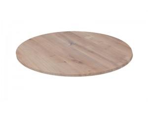 Rond tafelblad 30 mm eiken