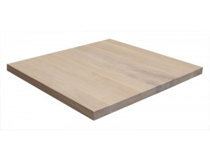 Vierkant tafelblad eiken 40 mm
