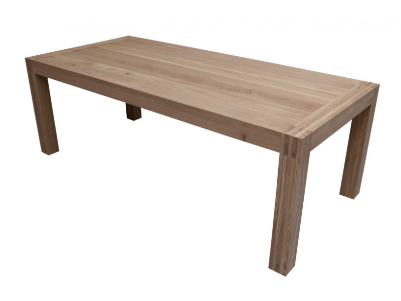 Affordable eiken tafel lakken of olien with eiken tafel for Tafel schuren en olien