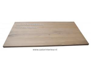 Eiken tafelblad 40 mm dik