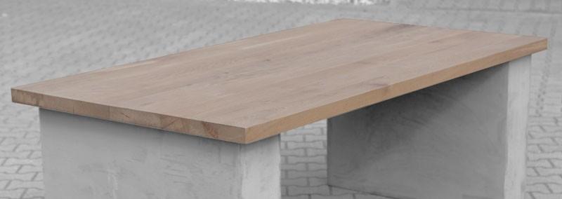 Tafelblad op maat keukentafel afmetingen for Tafelblad maken