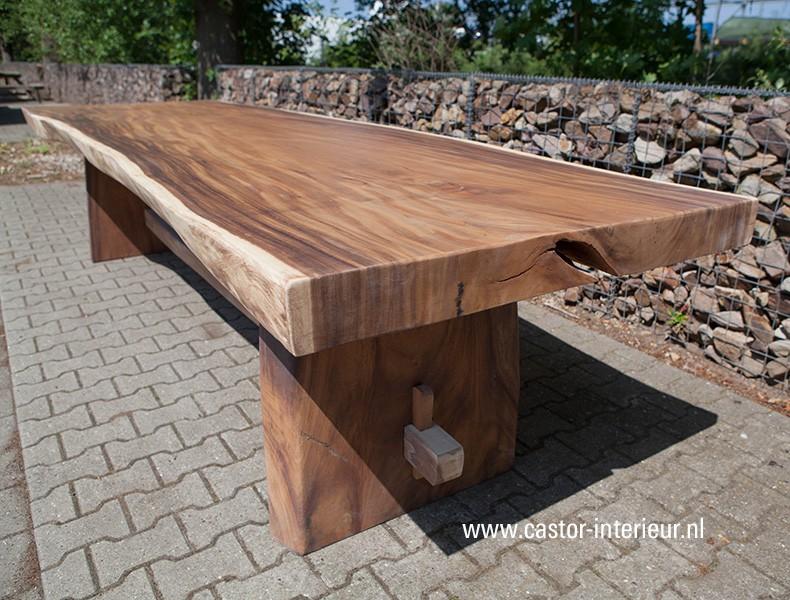 Tafel Van Boomstam : Xxl boomstam tafel