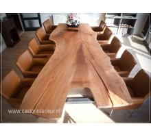 Rode Plataan - Boomstam tafel