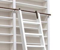boekenkast met ladder