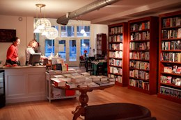 Interieur Java Bookshop