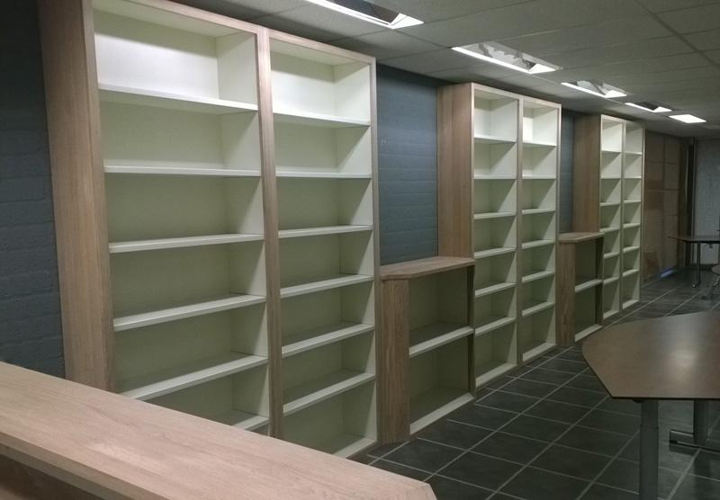 boekenkasten voor winkel