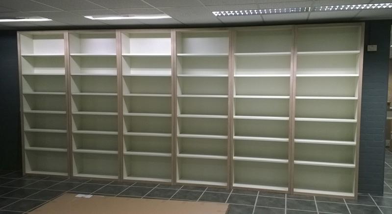 boekenkasten voor boekwinkel
