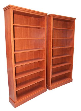 Mahonie boekenkasten