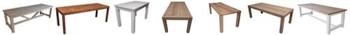 Eiken tafels van Castor Interieur