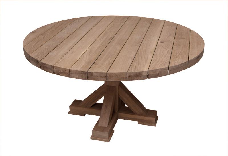Eiken tafels voor buiten